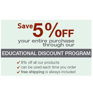 SimplyBabyFurniture.com Educational Discount Program