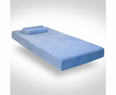 Sleep Harmony Jubilee Full Youth Memory Foam Mattress in Blue