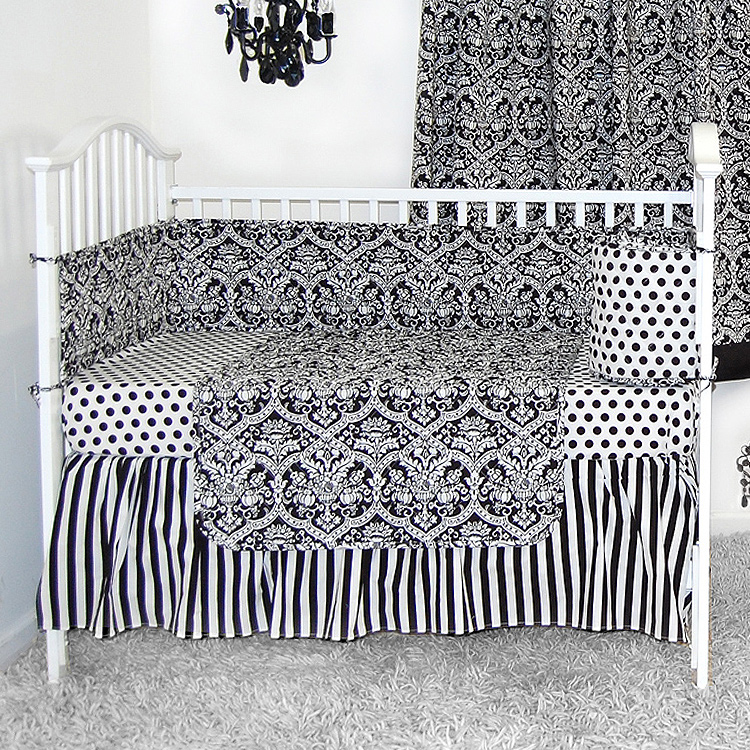jojo sets baby cribs piece white in sweet from crib buy navy chevron bedding designs set