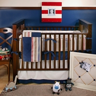 Snips and Snails Crib Bedding Collection by New Arrivals