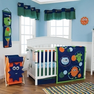 Snuggle Monster Bedding Collection by Trend Lab