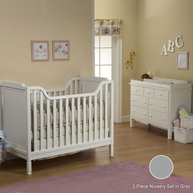 sorelle 2 nursery set bedford crib and