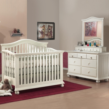 Sorelle 3 Piece Nursery Set Vista 4 In 1 Pine