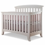Sorelle Alex 4-in-1 Convertible Crib in White