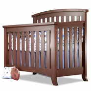Sorelle Alex Convertible Crib in Mocha Cafe