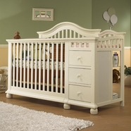 Sorelle Cape Cod Convertible Crib in French White