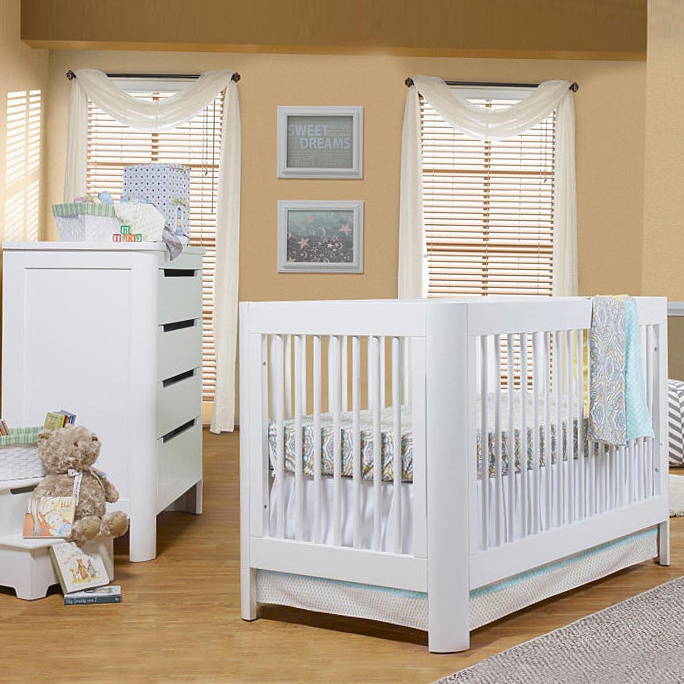 Sorelle 4 In 1 Convertible Crib And Changer Sorelle