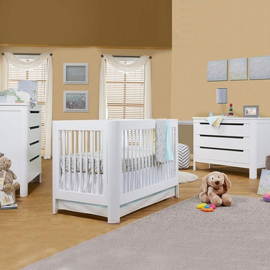 Sorelle Chandler 3 Piece Nursery Set 4 In 1 Convertible Crib Drawer And
