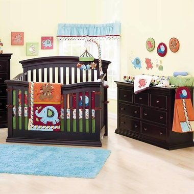 Sorelle Verona 2 Piece Nursery Set 4 In 1 Convertible