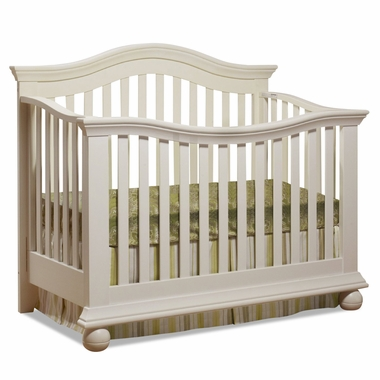 Sorelle Vista Couture Crib In French White Free Shipping