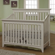 Sorelle Shaker Crib French White