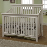 Sorelle Shaker Convertible Crib in French White