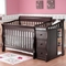 Sorelle Tuscany Crib and Changer in Espresso