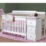 Sorelle Tuscany Crib and Changer in White