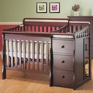 Sorelle Tuscany Crib in Cherry