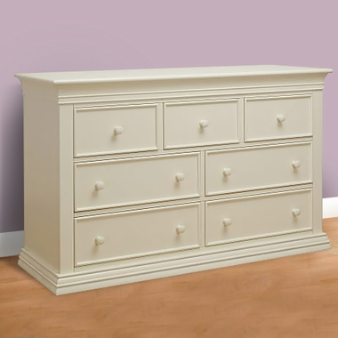 Sorelle Verona Double Dresser In French White Free Shipping