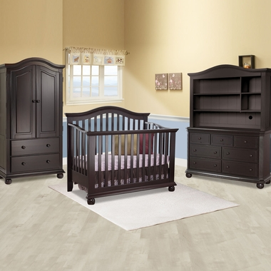 Sorelle Vista 4 Piece Nursery Set 4 In 1 Convertible Crib Double