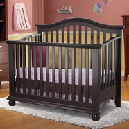 Sorelle Vista Convertible Crib in Espresso
