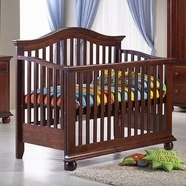 Sorelle Vista Couture Convertible Crib in Espresso