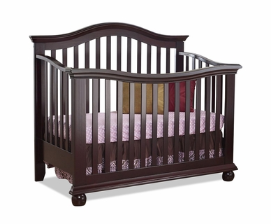Sorelle Vista Couture Crib in Espresso