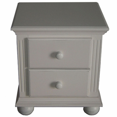 Sorelle Vista Night Stand French White Finish Free Shipping