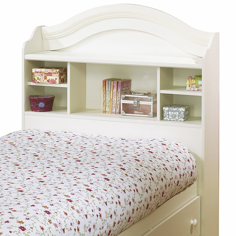 SouthShore 2 Piece Bedroom Set   Summer Breeze Twin Bookcase Headboard And  Twin Mates Bed In Vanilla Cream 3210 FREE SHIPPING