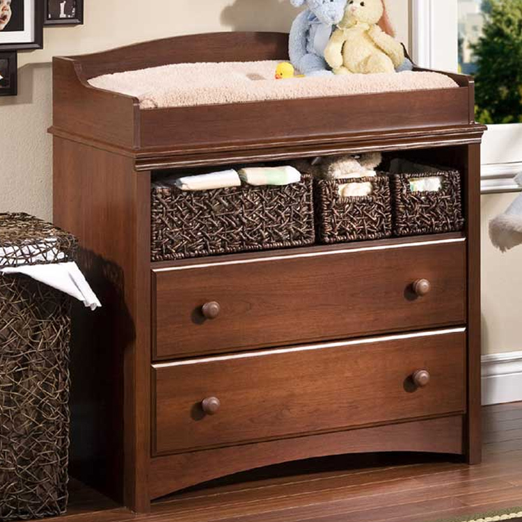 Souths Nursery Sets Sweet Morning Crib Changing Table And 4 Drawer Chest In Royal Cherry Free Shipping