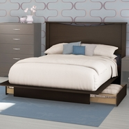 SouthShore Back Bay Bedroom Sets in Chocolate