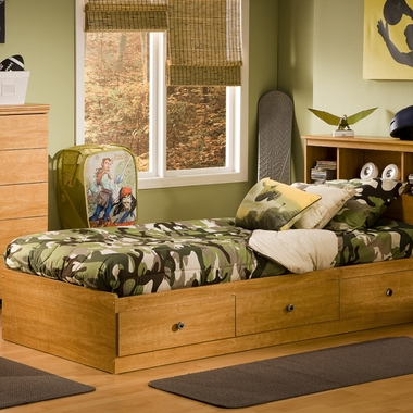 Southshore Billy 39 Quot Mates Twin Bed In Florence Maple