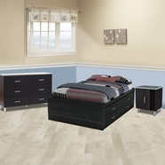 South Shore Cosmos Bedroom Sets in Onyx