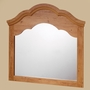 "SouthShore Huntington Collection Mirror 41"" x 41"" - Country Pine"