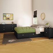 South Shore Karma Bedroom Sets in Pure Black