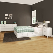 South Shore Karma Bedroom Sets in Pure White