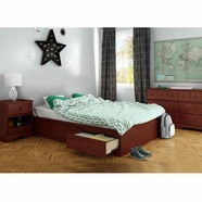 South Shore Little Treasures Bedroom Sets in Royal Cherry