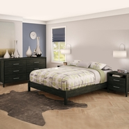 South Shore mountain lodge Bedroom Sets in Ebony