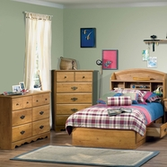 South Shore Roslindale Bedroom Sets in Country Pine