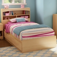 South Shore Step One Bedroom Sets in Natural Maple