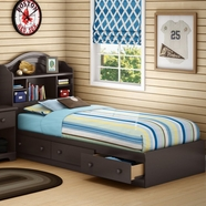 SouthShore Summer Breeze Bedroom Sets in Chocolate