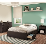 South Shore Summer Breeze Bedroom Sets in Chocolate