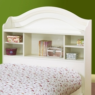"SouthShore Summer Breeze Country Bookcase Headboard 39"" in Vanilla Cream"