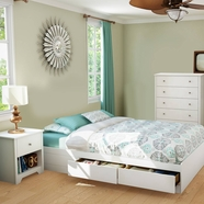 South Shore Vito Bedroom Sets in Pure White