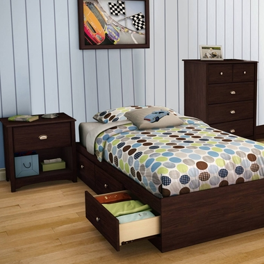 Southshore Willow 3 Piece Bedroom Set Willow Twin Mates