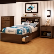 South Shore Willow Bedroom Sets in Cherry