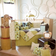 Spa Crib Bedding Collection by Glenna Jean