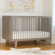 Sparrow Grey Crib by Oeuf