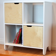 Spot On Square Hiya Bookshelf in Birch