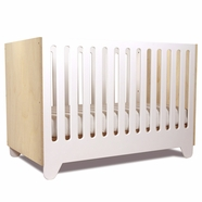 Spot on Square Hiya Convertible Crib in Birch