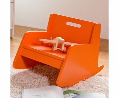 Spot On Square Hiya Rocker in Orange