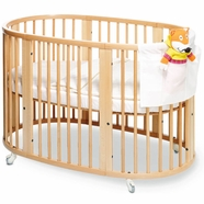 Stokke Sleepi Convertible Crib in Natural