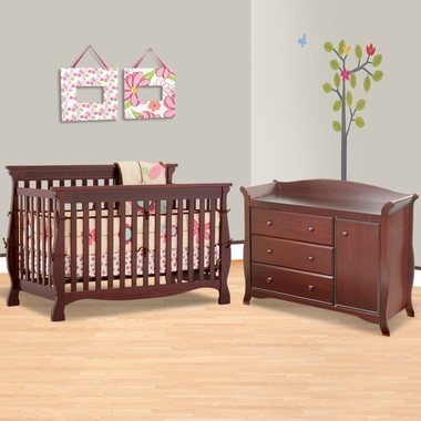 Emily Ii 2 Sided Crib 260 Coil Mattress With Borderwire